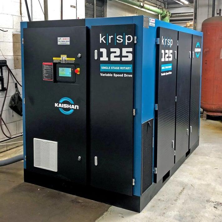 Air Compressor Facility Blog Image